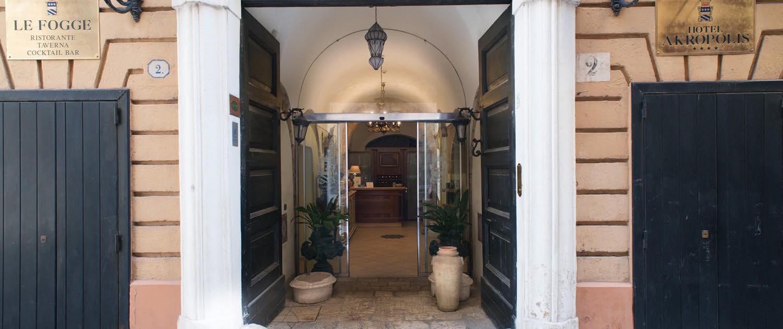 ESTERNO - Hotel Akropolis