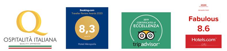 Akropolis Certificazioni 2020 2 - Hotel Akropolis