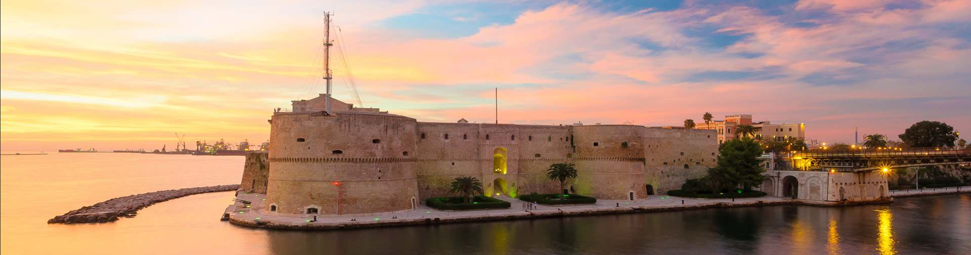 Sfondo Taranto - Hotel Akropolis